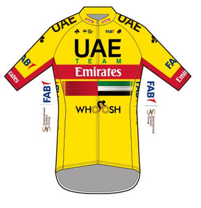 2020  UAE Team Emirates Apex+ Jersey ( Yellow Jersey )