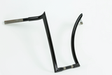 "KILLER 16"" TALL 1.25""THICK BLACK APE HANGER HANDLEBAR"