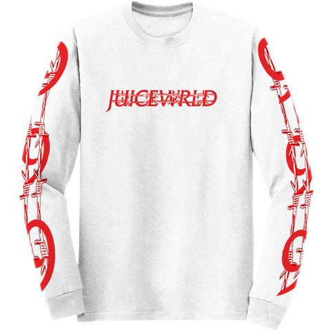 BARBED WIRE LONG SLEEVE - JuiceWrld
