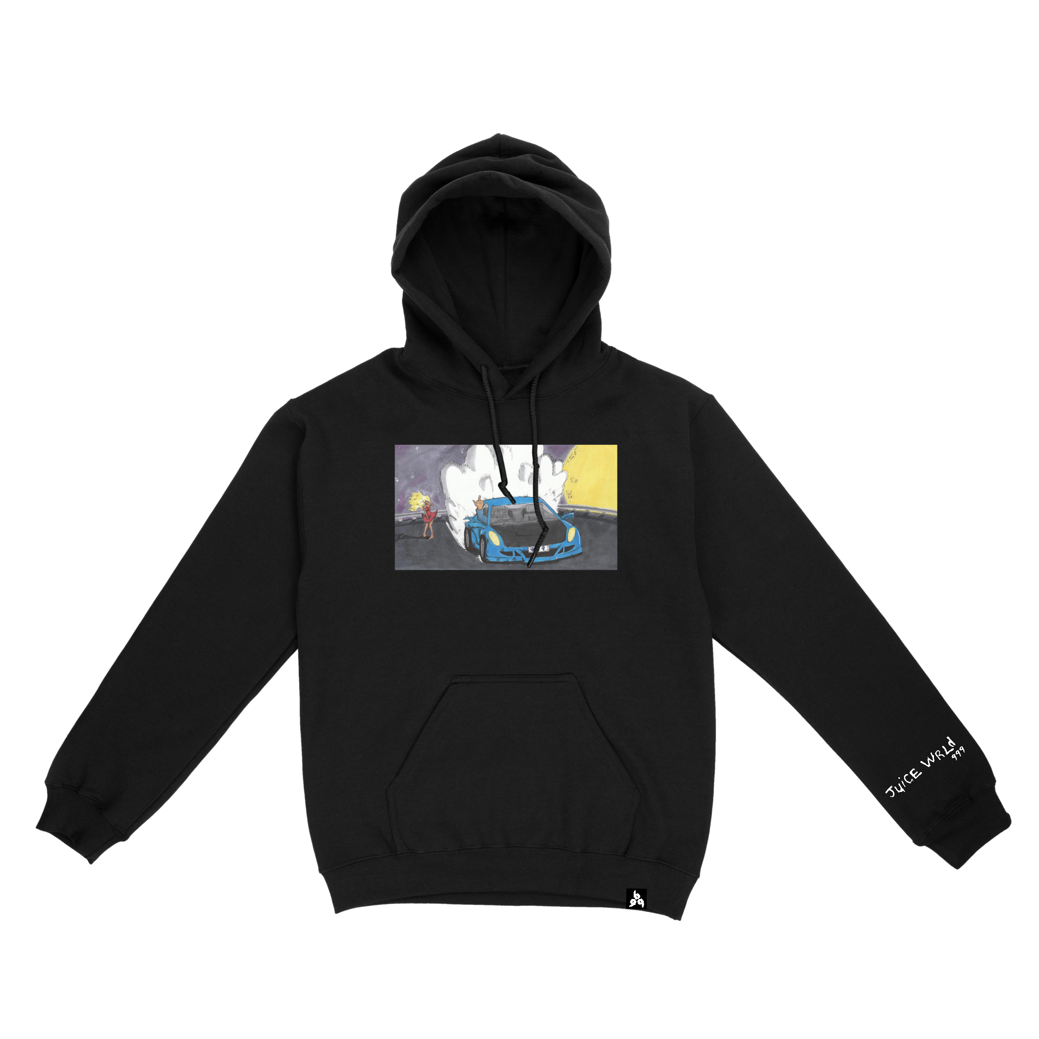 GOODBYE & GOOD RIDDANCE HOODIE Black