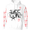 SHADOWS IN MY ROOM HOODIE - WHITE - JuiceWrld