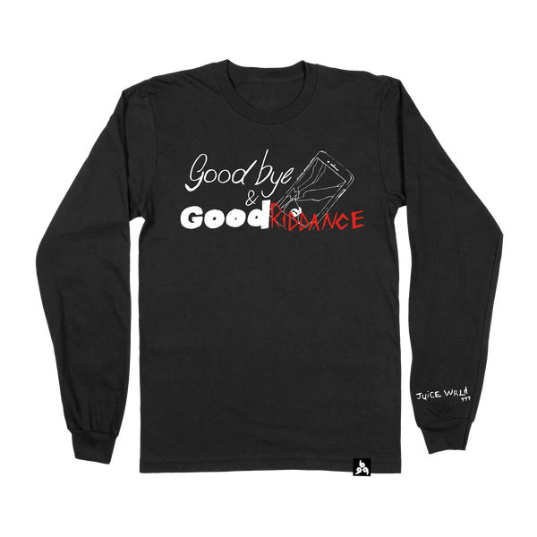 Goodbye & Good Riddance Long Sleeve Black