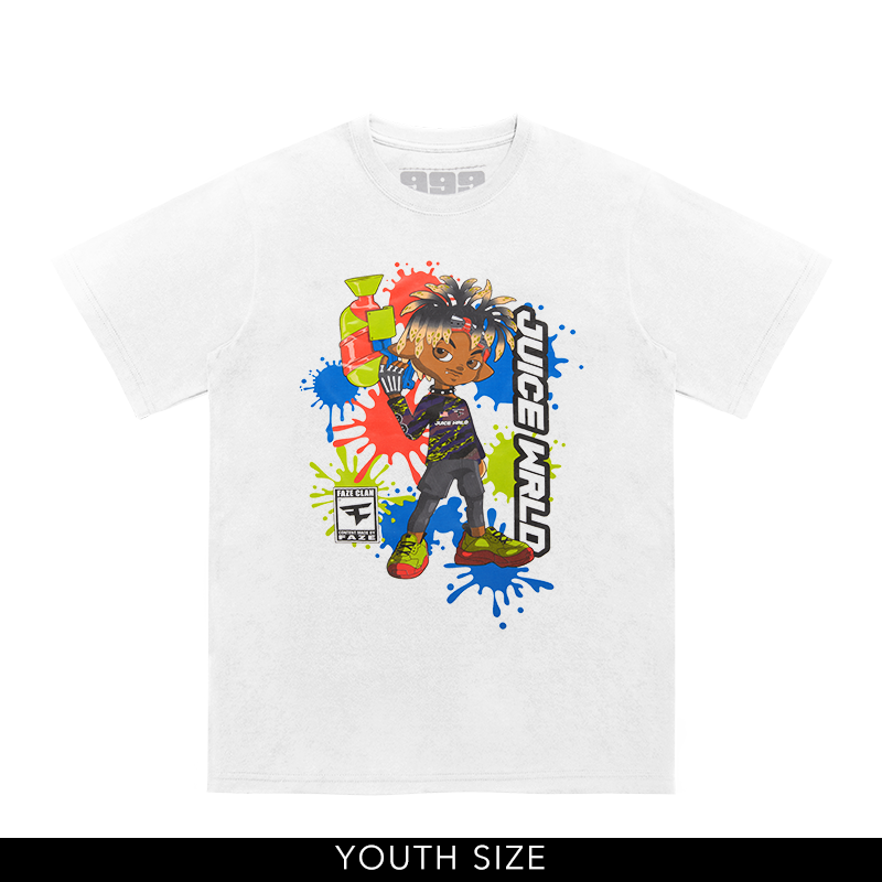 Youth Juice WRLD X FaZe Clan Ready Up Tee + Digital Album - JuiceWrld