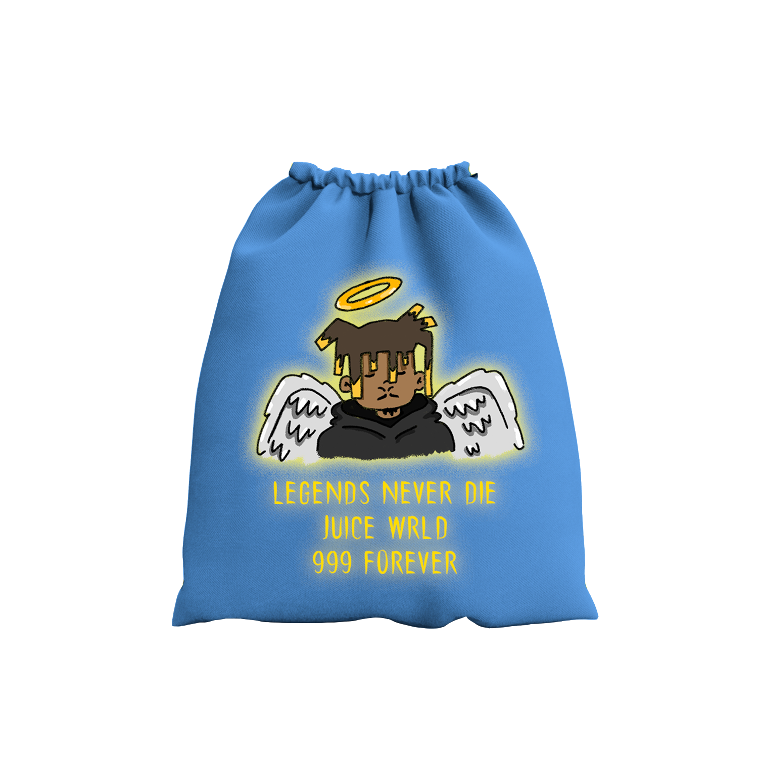 Legends Never Die Drawstring Bag + Digital Album - JuiceWrld