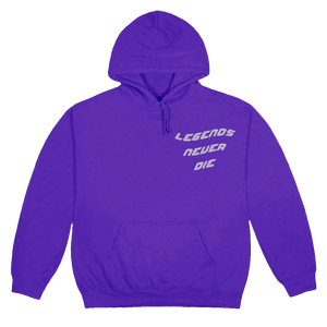 Juice WRLD X FaZe Clan Clouds Hoodie in Purple - JuiceWrld