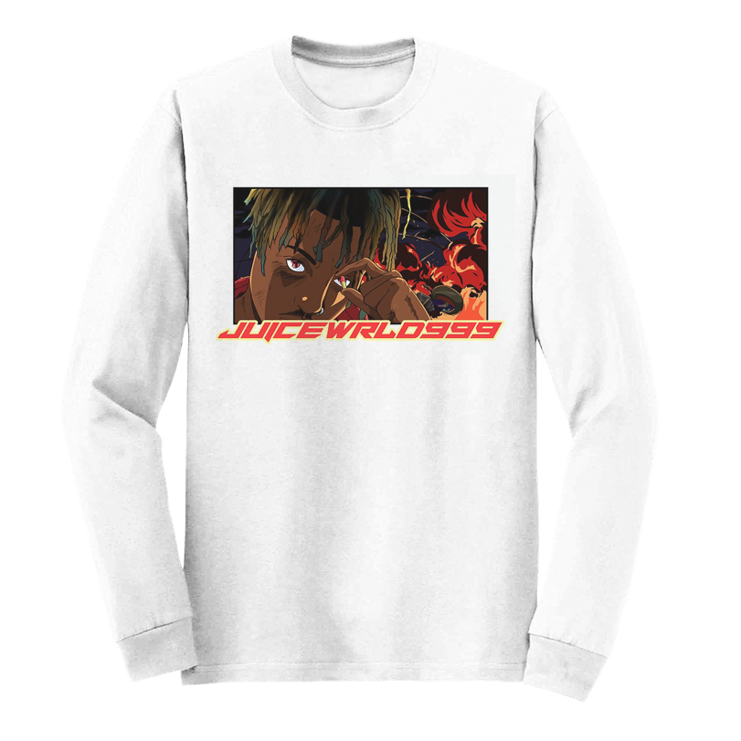 I WONT LET YOU FORGET ME LONG SLEEVE LIMITED EDITION - WHITE - JuiceWrld