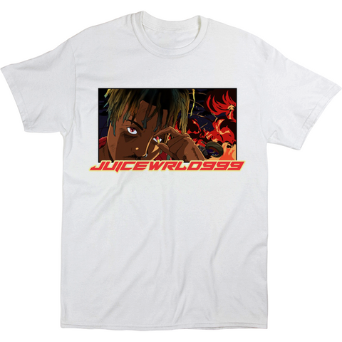 I WONT LET YOU FORGET ME TEE LIMITED EDITION - WHITE - JuiceWrld