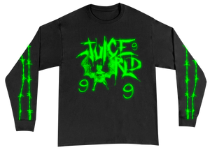 Shadows in My Room Glow in the Dark Long Sleeve + Digital Album - JuiceWrld