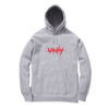 NO VANITY EMBROIDERED HOODIE - GREY - JuiceWrld