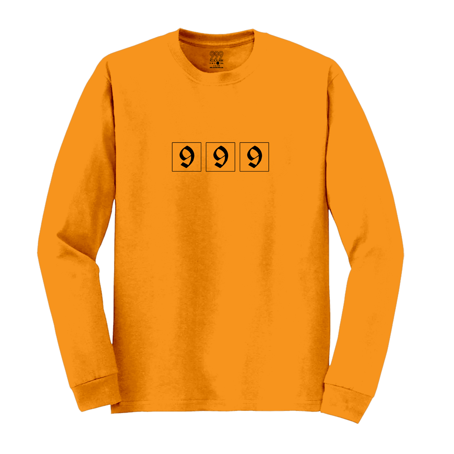 DEMON LOVE LONG SLEEVE - ORANGE - JuiceWrld