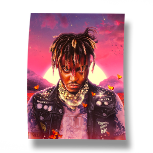 Legends Never Die Album Poster - JuiceWrld