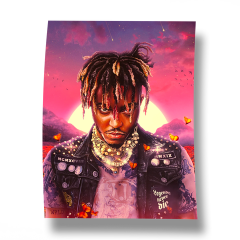 Legends Never Die Album Poster + Digital Album - JuiceWrld