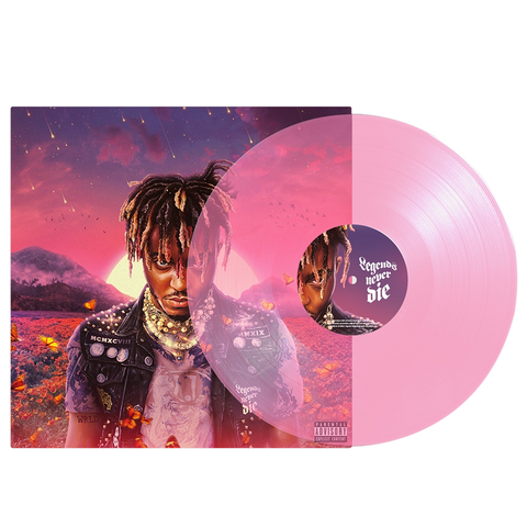 MOTY Limited Edition Vinyl - Millenial Pink + Digital Album - JuiceWrld