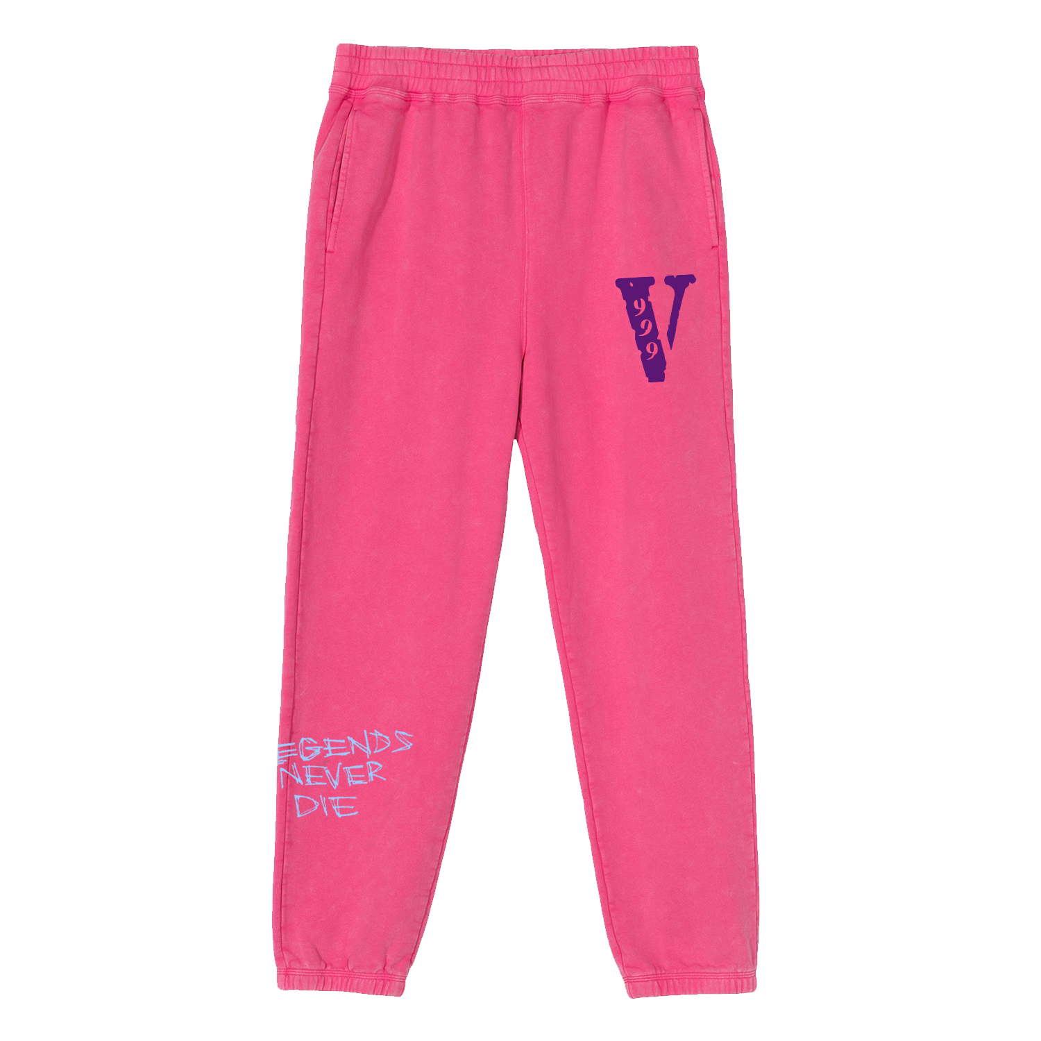 Juice WRLD X VLONE Sweatpants in Pink - JuiceWrld