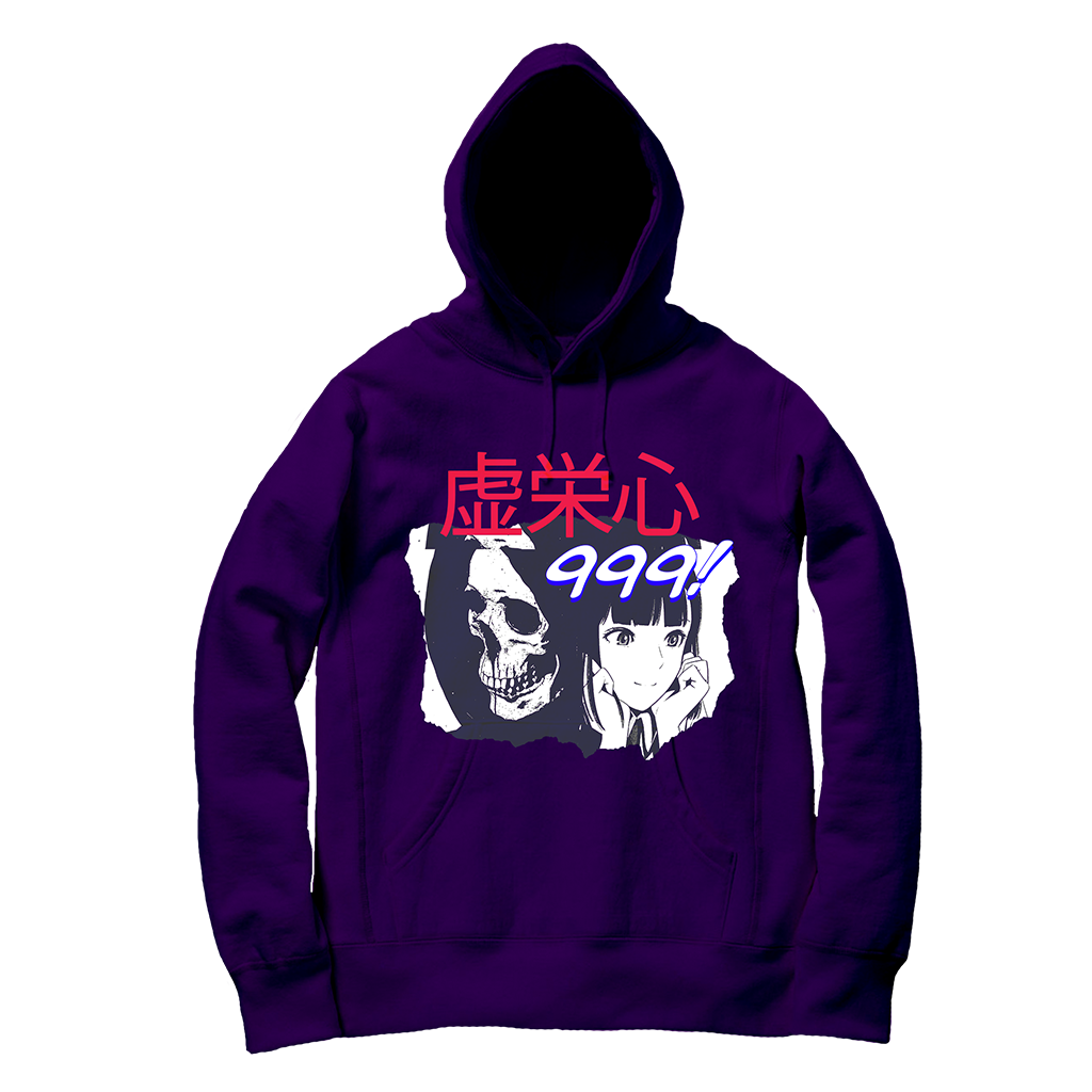 SHE KILLS ME HOODIE - PURPLE - JuiceWrld