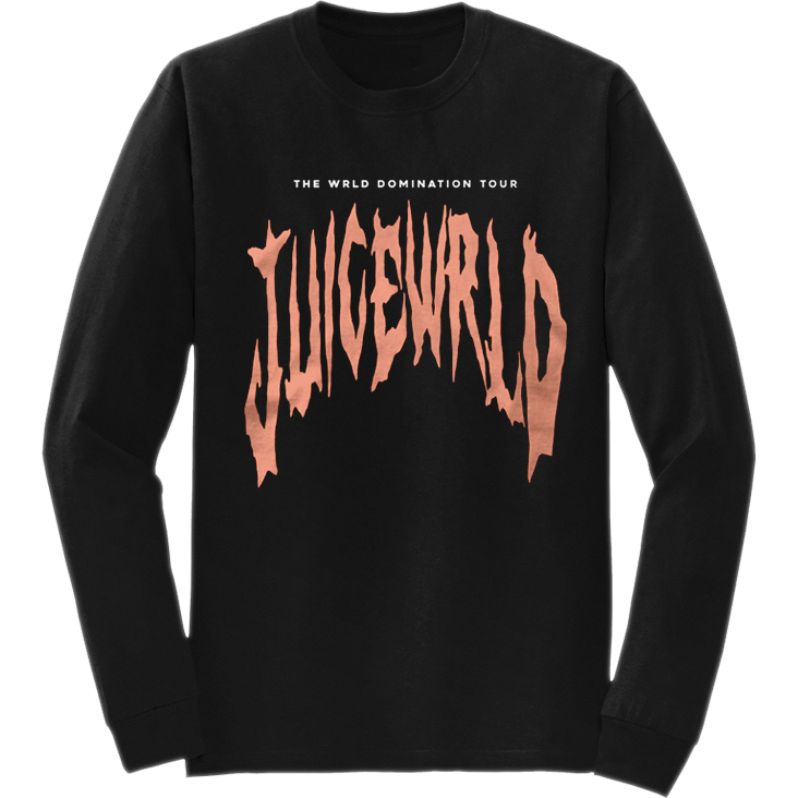 JUICE WRLD LONG SLEEVE - BLACK - JuiceWrld