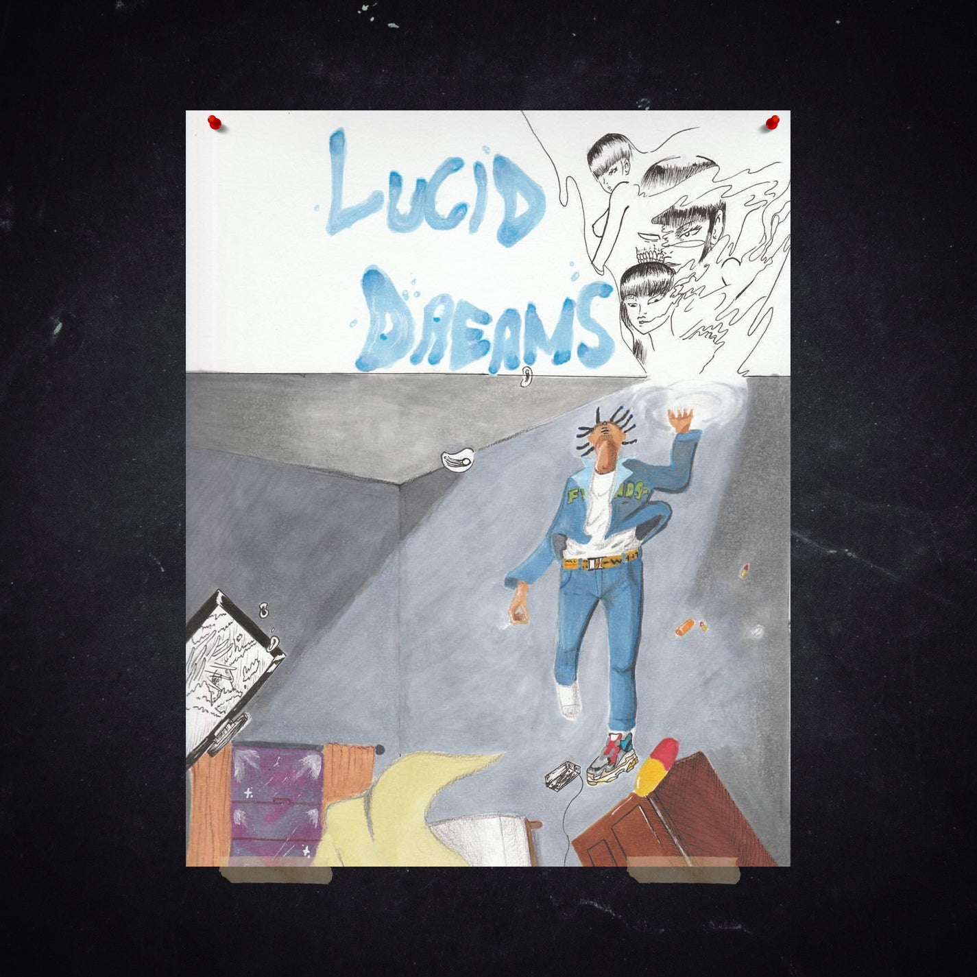 JUICE WRLD LUCID DREAMS POSTER - JuiceWrld