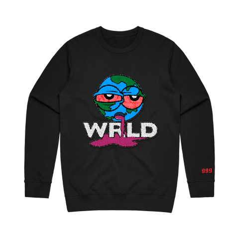 Wasted Crewneck Black