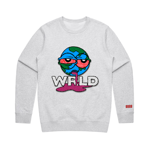 Wasted Crewneck White