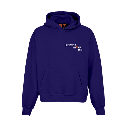 Juice WRLD X VLONE Hoodie in Purple + Digital Album