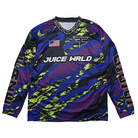 Juice WRLD X FaZe Clan Paintball Jersey + Digital Album - JuiceWrld