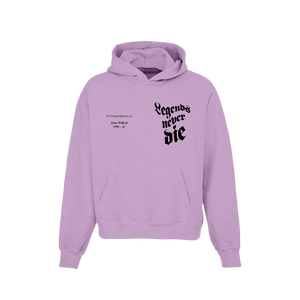 In Loving Memory Hoodie in Purple + Digital Album - JuiceWrld