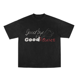 Goodbye & Good Riddance Tee in Black