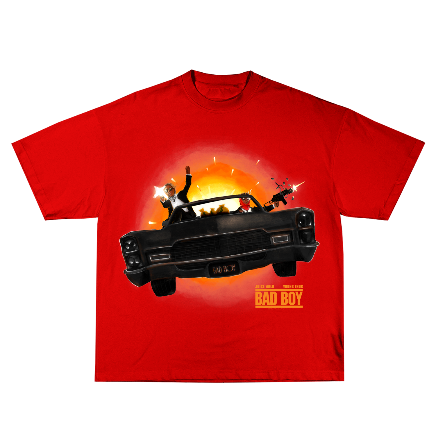 Bad Boy Futuristic Ride Tee