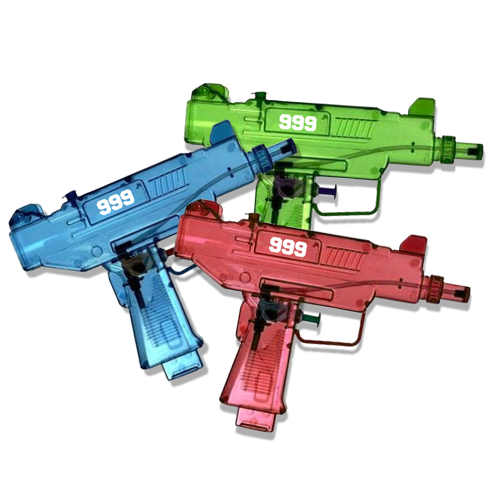 LIMITED EDITION ARMED & DANGEROUS UZI WATER GUN