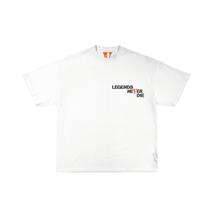 Juice WRLD X VLONE Butterfly Tee in White + Digital Album - JuiceWrld