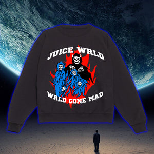 Wrld Gone Mad Crewneck