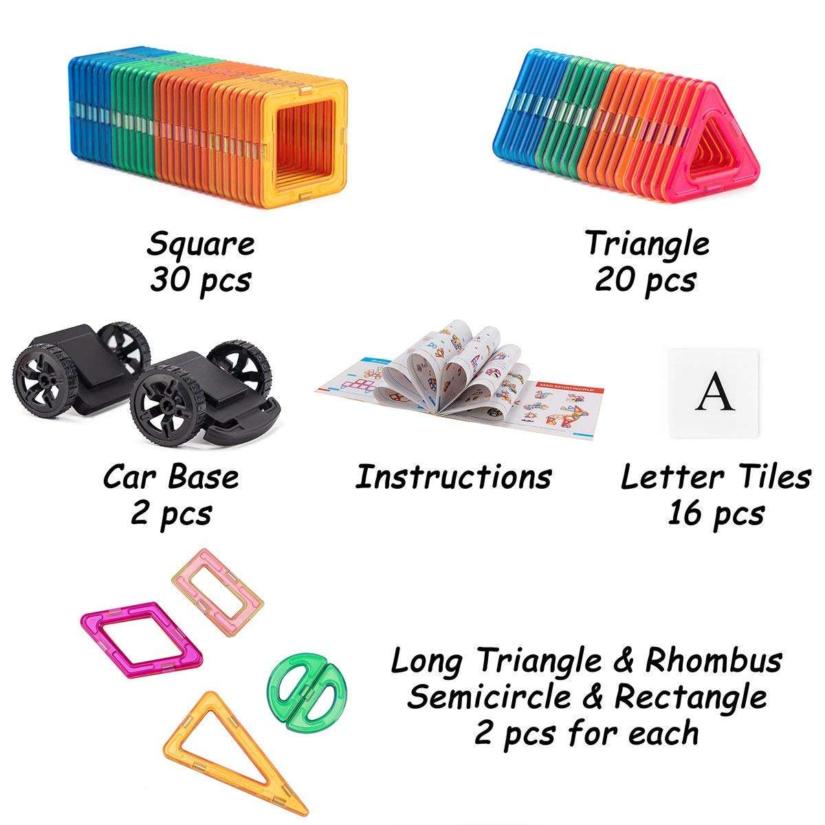 363b47ef2 ... 208 Pieces STEM Learning Toy Engineering Construction Building Blocks  ...