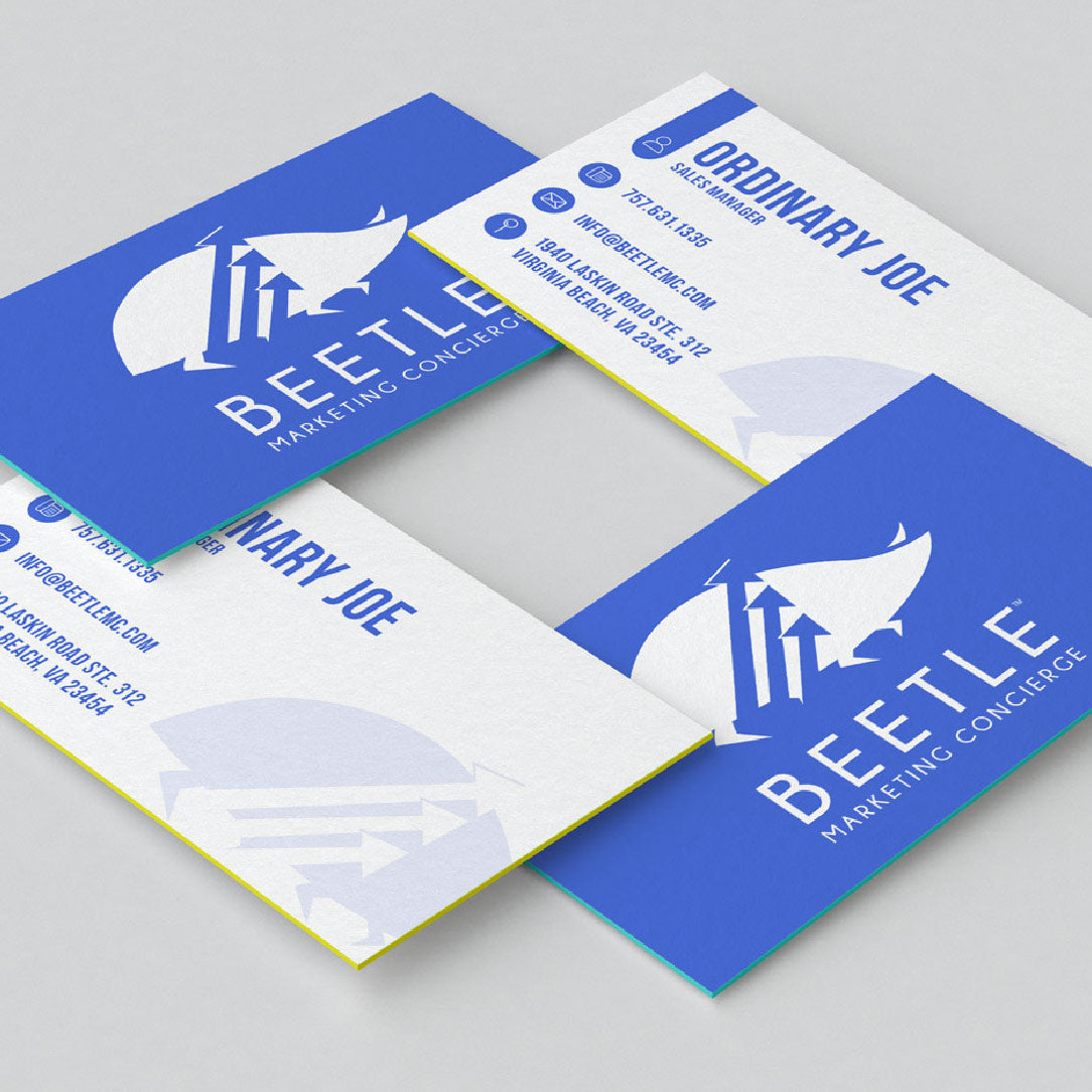 Business cards beetle marketing concierge business cards reheart Choice Image