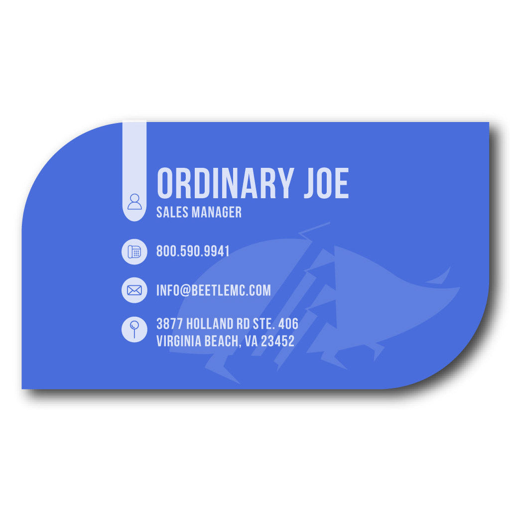 Business Cards: Special Shapes - Beetle Marketing Concierge