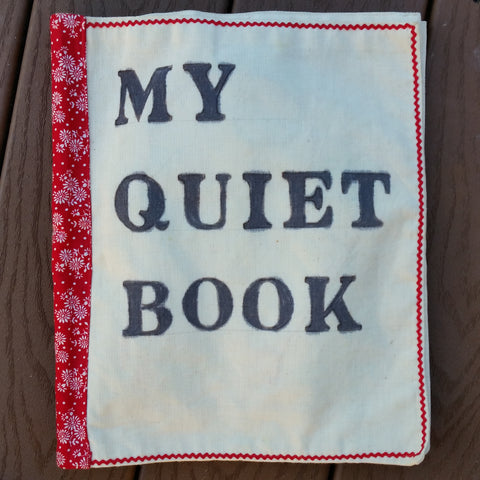 Vintage Cloth 1960s Handmade/Handsewn Quiet Book Excellent Crafting & Condition