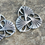 jennymonkey oberon design ginkgo leaves art nouveau earrings