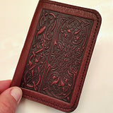 celtic hounds card holder by oberon design at jennymonkey
