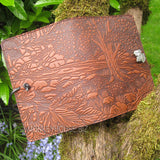 jennymonkey creek bed maple leather journal oberon design 2