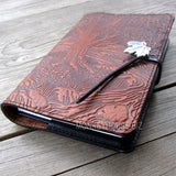 jennymonkey creek bed maple leather journal oberon design 4