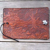 jennymonkey creek bed maple leather journal oberon design 5