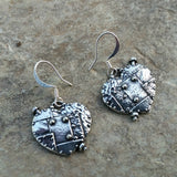 fearless heart earrings at jennymonkey steampunk design