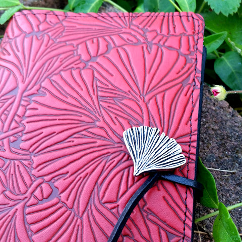 Ginkgo Leather Oberon Design Journal