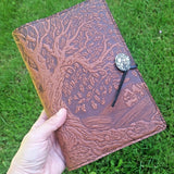 jennymonkey tree of life journal oberon design jlm17 in hand
