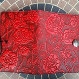 jennymonkey wild rose leather journal jsa15 jla15 oberon design open