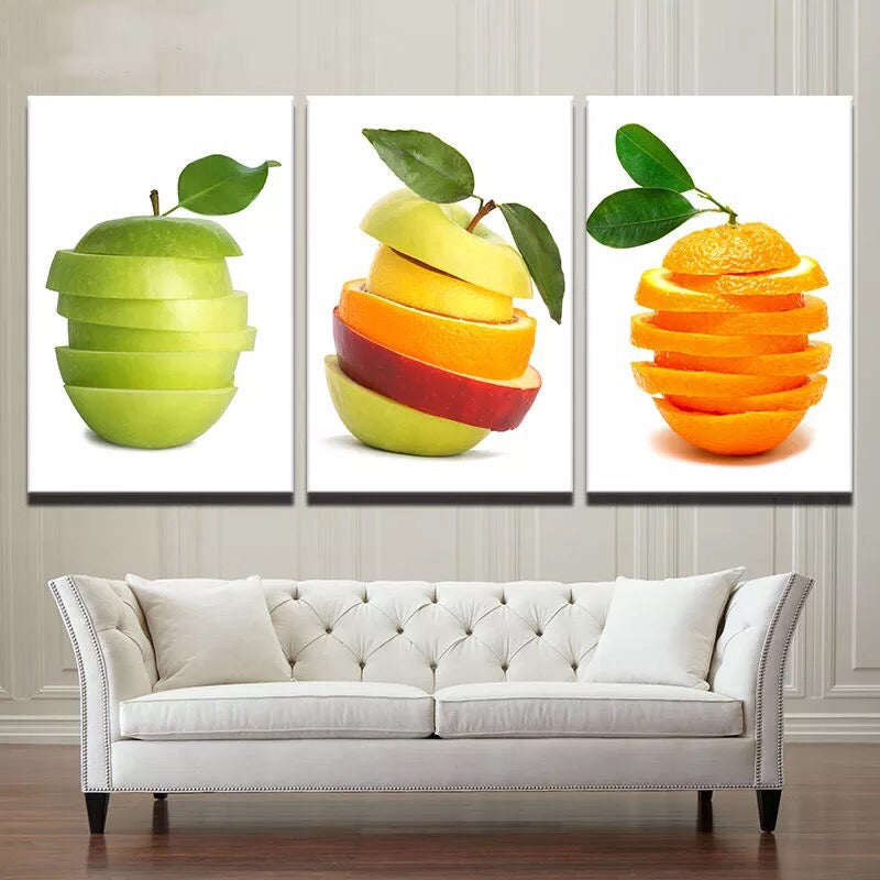 Apples and Oranges, PRINTS, Ole Canvas