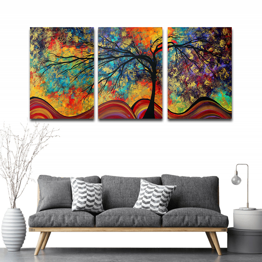 COLORS OF TREE, PRINTS, Ole Canvas