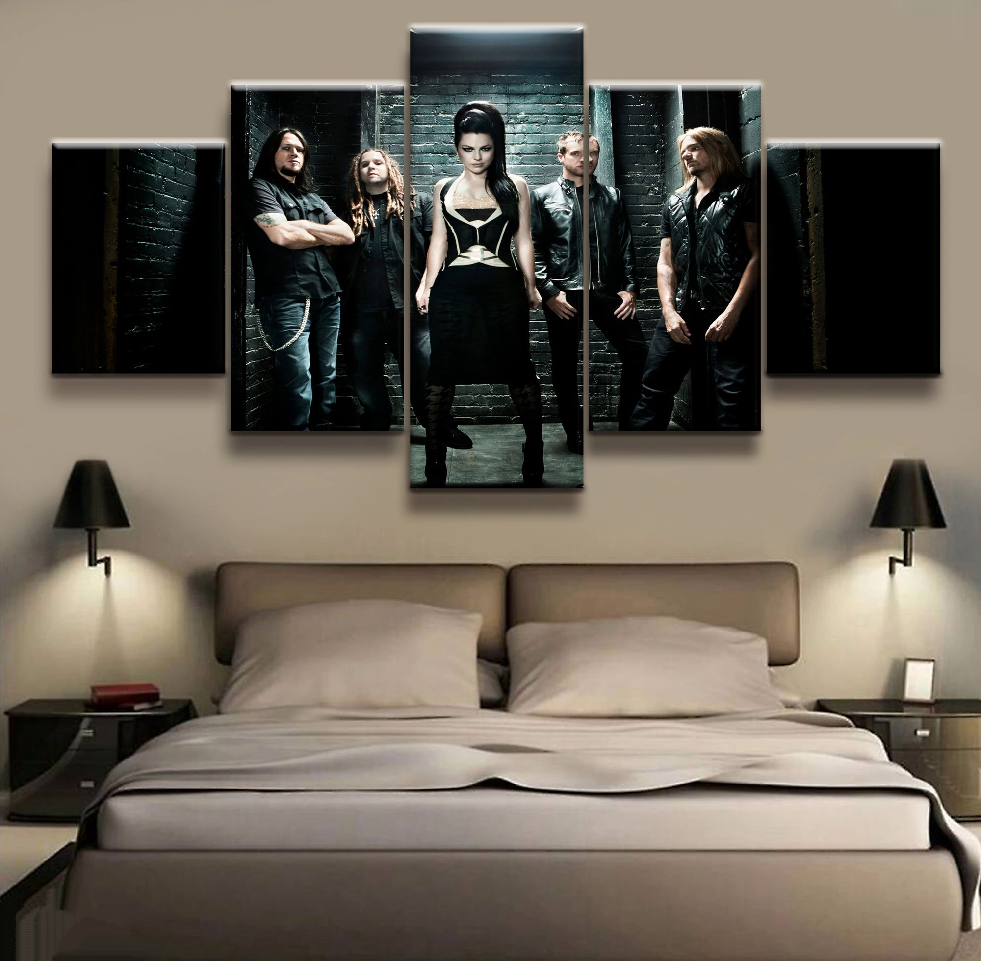 Evanescence Rock Band - Ole Canvas