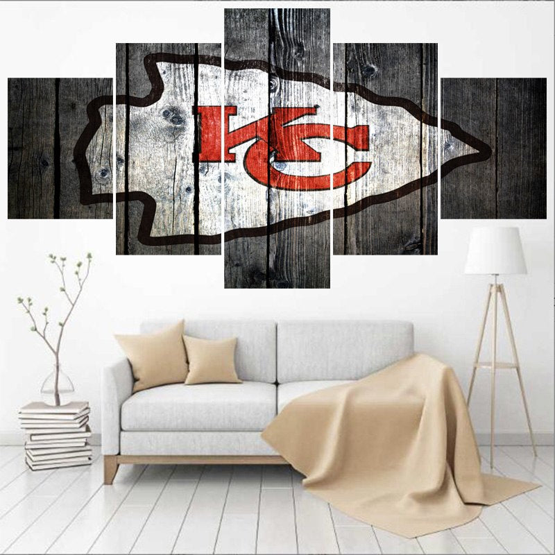 Kansas City Chiefs Canvas
