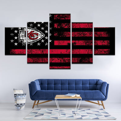 Kansas City Chiefs Sports Flag
