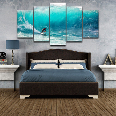 SURFER WAVES - Ole Canvas